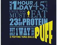 PUFF | Tuna balls snack