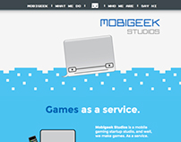 Mobigeek Studios Website