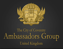 The City Of Coventry Ambassadors Group - Website layout