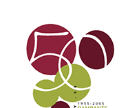 Russo Wines Promo Cards Anniversary - Year 2005