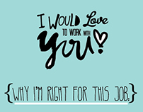 I WOULD L♥VE TO WORK WITH YOU