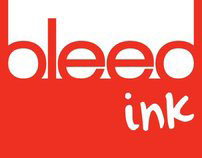 bleed ink samples