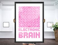 PATTERN POSTER // Electronic Brain