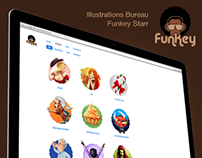 Funkey Starr Illustrations Bureau