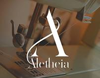 Aletheia visual identity