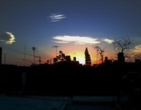 atardeceres desde mi azotea/ sunshines from my roof