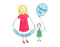 Nexus HR Logo and Illustrations