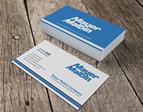 Business Card Design - Mayer Malbin