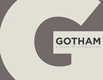 Gotham Typeface Exploration