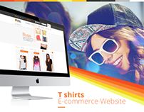 Thks' t-shirts E-commerce website — One for One