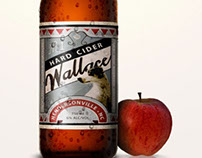 Wallace Hard Cider Label