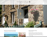 Website Design for Penwartha Cottages