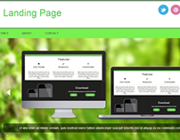 Green Tea - Website Concept