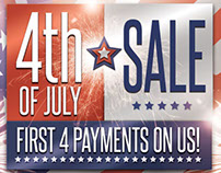 4thJuly-Sales Event Campaign