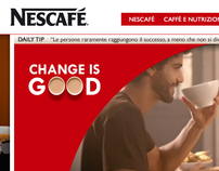 Nescafé Italia website