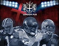 NFL 2013 Kickoff: London Pub, Vancouver