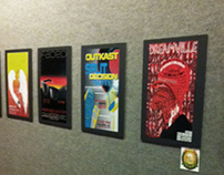 Music Event Posters - (student projects at LAC)