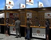 Stand Bacardi