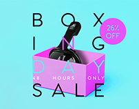 Digital Ad Boxing Day Sale