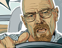 Fan Art. Breaking Bad / Walter White.