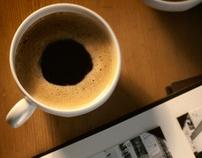 El café y la pantalla