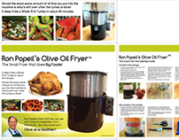 Packaging project for Ron Popeil Olive Oil Fryer