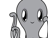 Octopus with tutu