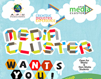 APU Media Cluster Recruitment