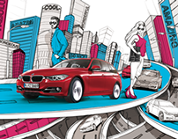 BMW 3er Illustration