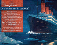 """A Night in Steerage"" Dinner Promotion"