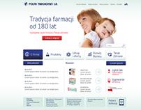 Polfa Tarchomin website