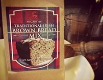 Traditional Irish Brown Bread Packaging