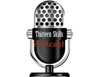 Logo for Thirteen Skills Podcast