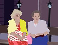 Polish Ladies Digital Illustration