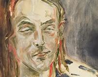Oil Portrait Painting of AJ