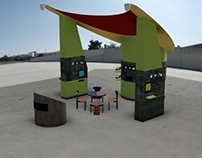 Trade Show Booth - early AutoCad