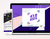 412Beats Interactive Music Discovery using Mobile AR