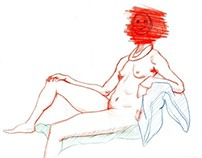 Figure drawings of the Womens