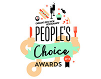 EnRoute Air Canada, People's Choice Awards Logo(sketch)