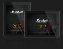 Marshall 2013 iPad Catalogue
