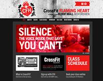 CrossFit Flaming Heart Website
