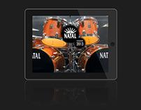Natal Drums iPad Catalogue