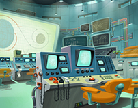"""Some  Environment Stuff for """"Space Dogs II"""""""