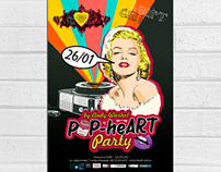 Pop Art Party poster
