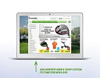 WebGolf.cz – e-shop redesign