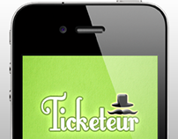 App Design, Project Management - Ticketeur for iOS