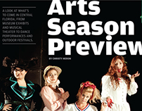 Orlando magazine, Arts Season Preview, September 2012