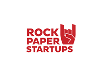 RockPaperStartups, Complete branding and website design