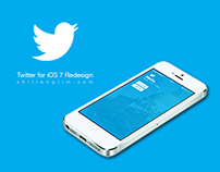 iOS 7 Twitter Redesign