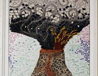 Earth Science Mosaic Mural